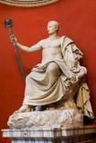 Escultura - museo del Vaticano imagen de archivo
