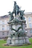 Escultura na cidade de Dusseldorf!! Imagem de Stock