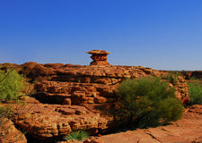 Escultura natural da rocha Fotos de Stock Royalty Free