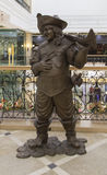A escultura no armazém em yekaterinburg, Federação Russa Fotografia de Stock Royalty Free