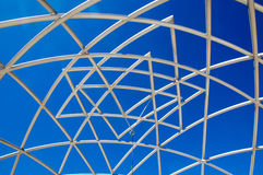 Escultura no céu: Testes padrões Imagem de Stock Royalty Free