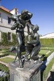 Escultura no jardim Fotografia de Stock Royalty Free
