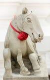 Escultura no templo de Wat Arun Imagens de Stock Royalty Free