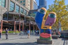 Escultura Ophelia de Melbourne Imagem de Stock