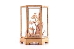 Escultura oriental da arte Imagens de Stock