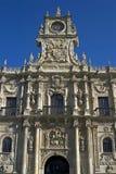 Escultura Parador, cidade Leon, Espanha Imagem de Stock Royalty Free