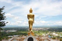 Escultura permanente de Buda fotos de archivo