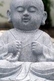 Escultura Praying da monge Fotografia de Stock Royalty Free