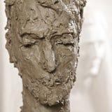 Escultura principal Fotografia de Stock