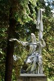 Escultura Rússia no parque de Grutas perto de Druskininkai Imagens de Stock Royalty Free