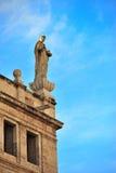 Escultura religiosa de Saint Fotografia de Stock