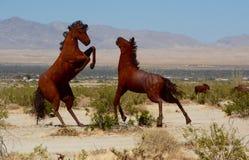 Escultura salvaje de la manguera Fotos de archivo