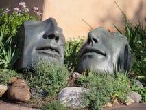 Escultura, Santa Fe nanómetro foto de archivo libre de regalías
