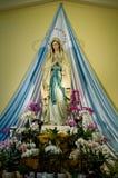 Escultura santamente de Mary na igreja de Medugorje em Bósnia Imagem de Stock