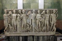 Escultura sobre el mito de Hippolytus imagen de archivo