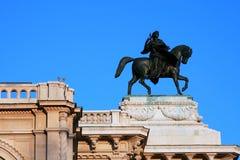 Escultura sobre o Wiener Staatsoper Imagem de Stock