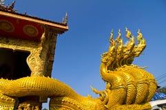 Escultura tailandesa del señor del guardia de Tradional Fotografía de archivo libre de regalías