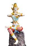 Escultura tailandesa do homem Fotografia de Stock