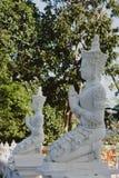 Escultura tradicional da Buda de Tailândia Fotografia de Stock Royalty Free