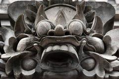 Escultura tradicional de Bali del templo, Ubud Bali imagenes de archivo