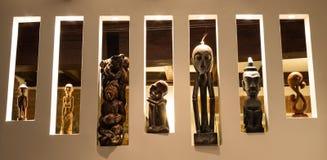 Esculturas africanas fotografía de archivo libre de regalías