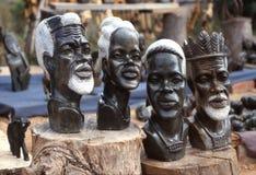 Esculturas africanas Imagens de Stock