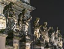 Esculturas barrocas en Kraków, Polonia Fotografía de archivo libre de regalías