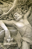 Esculturas da areia - Ulysses Imagens de Stock