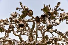 Esculturas da arte moderna Fotos de Stock