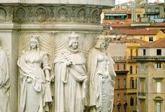 Esculturas da decoração do altar da pátria Fotografia de Stock Royalty Free