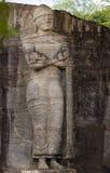 Esculturas da rocha do galão Vihara fotos de stock royalty free