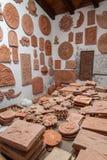 Esculturas de argila Foto de Stock