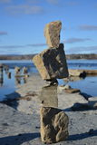 Esculturas de equilíbrio Foto de Stock