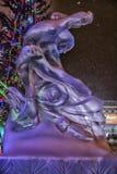 Esculturas de hielo fotografía de archivo libre de regalías
