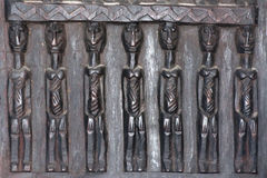 Esculturas de madeira de África Imagens de Stock Royalty Free