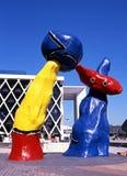 Esculturas de Miro, Paris Imagens de Stock