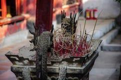 Esculturas de pedra dos dragões em um lugar de culto Confucius Imagem de Stock Royalty Free