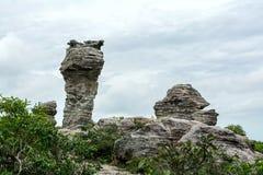 Esculturas de piedra naturales Fotos de archivo