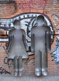 Esculturas del cortador de la galleta Fotografía de archivo