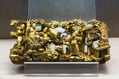 Esculturas del metal en Chen Clan Ancestral Hall Imagenes de archivo