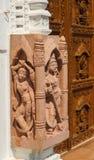 Esculturas del tempel Jain Foto de archivo