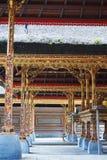 Esculturas del templo de Gunung Kawi del Balinese Fotos de archivo