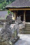 Esculturas del templo del Balinese Imágenes de archivo libres de regalías
