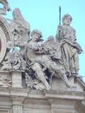 Esculturas del Vaticano Imagen de archivo libre de regalías