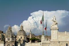 Esculturas e templos de Italia Fotos de Stock