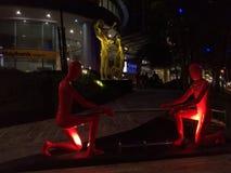 Esculturas en Kuala Lumpur fotografía de archivo libre de regalías