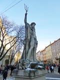 Esculturas en la ciudad Imagen de archivo libre de regalías
