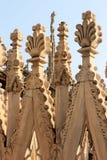 Esculturas en Milan Cathedral, Milano, Italia Imagen de archivo