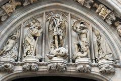 Esculturas en piedra Imagen de archivo libre de regalías