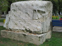 Esculturas en Rumania 9 Foto de archivo
